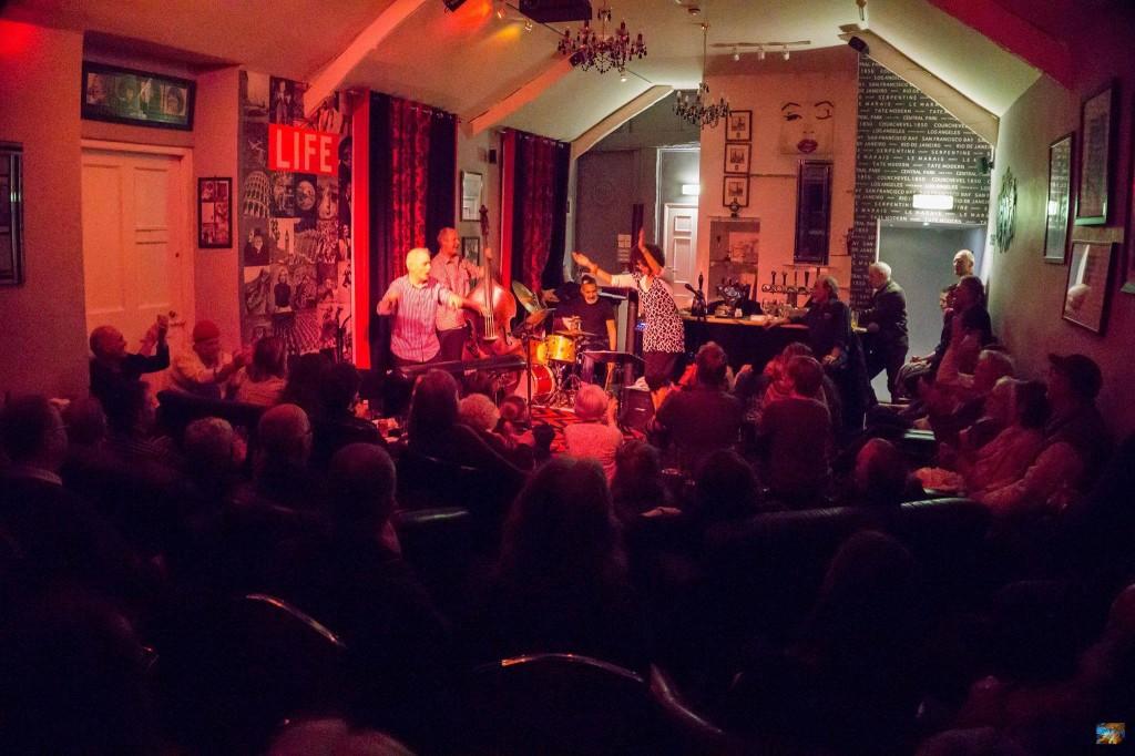 Mama Tokus & the King Tut Trio at Globe Jazz Chagford