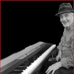 Tom at piano